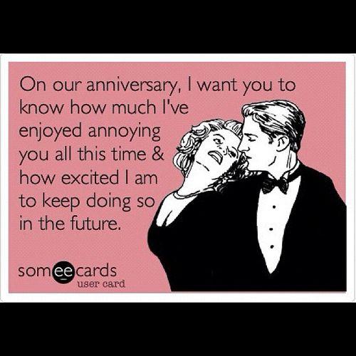 Happy anniversary my love @vickiholmberg #anniversary #love #happy #meme #funny #romance #truelove   Flickr - Photo Sharing!