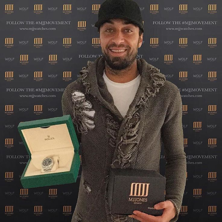 Welcoming #FelipeTrevizan to the #MJJMovement  Enjoy your #Rolex pal!  #Hannover96