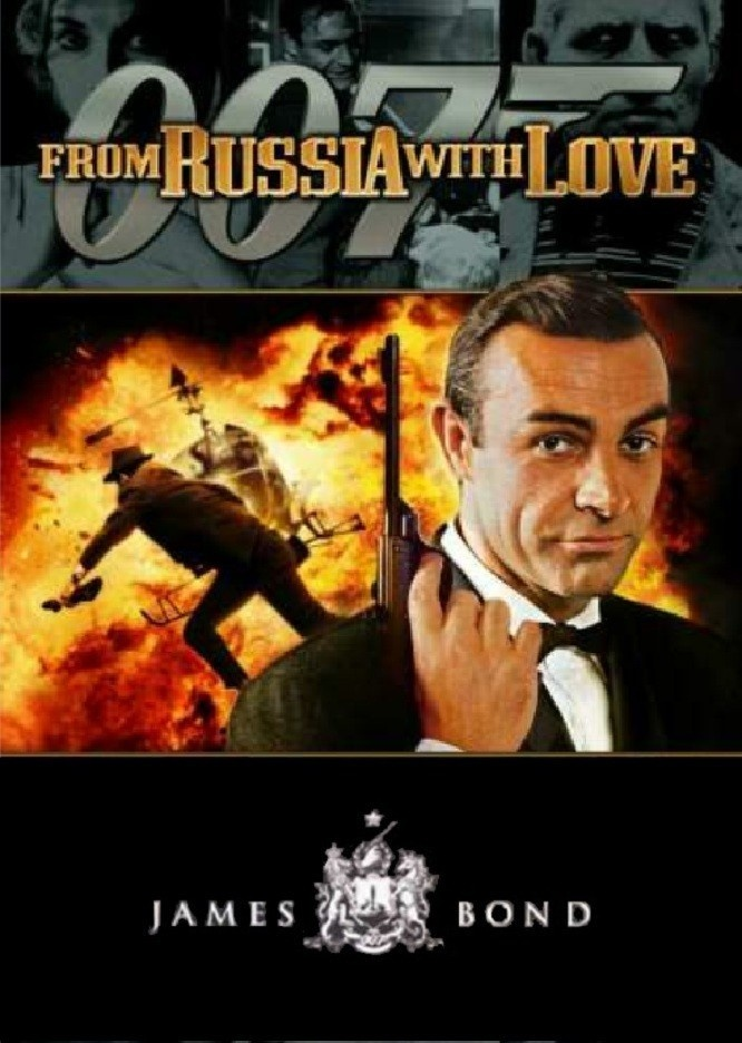 From Russia With Love, Sean Connery. James Bond retrospective.