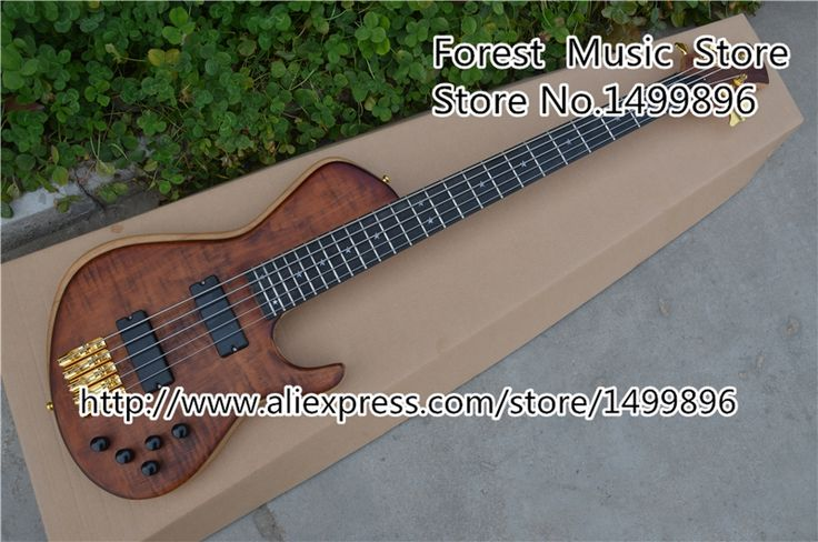 541.50$  Buy now - http://alilhe.worldwells.pw/go.php?t=32245147342 - Custom Shop 5 String China Electric Bass Guitar 24 Frets Ebony Fingerboard Guitar Neck Left Handed Guitarra Body & Kit Avaialble 541.50$