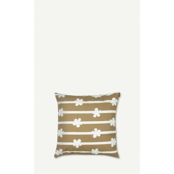 Masurkka cushion cover 50x50 cm - beige, white - Marimekko.com
