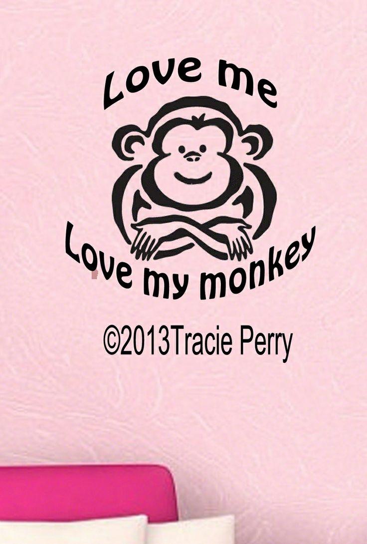 13 best Spunky Monkey's Vinyl decals images on Pinterest ...