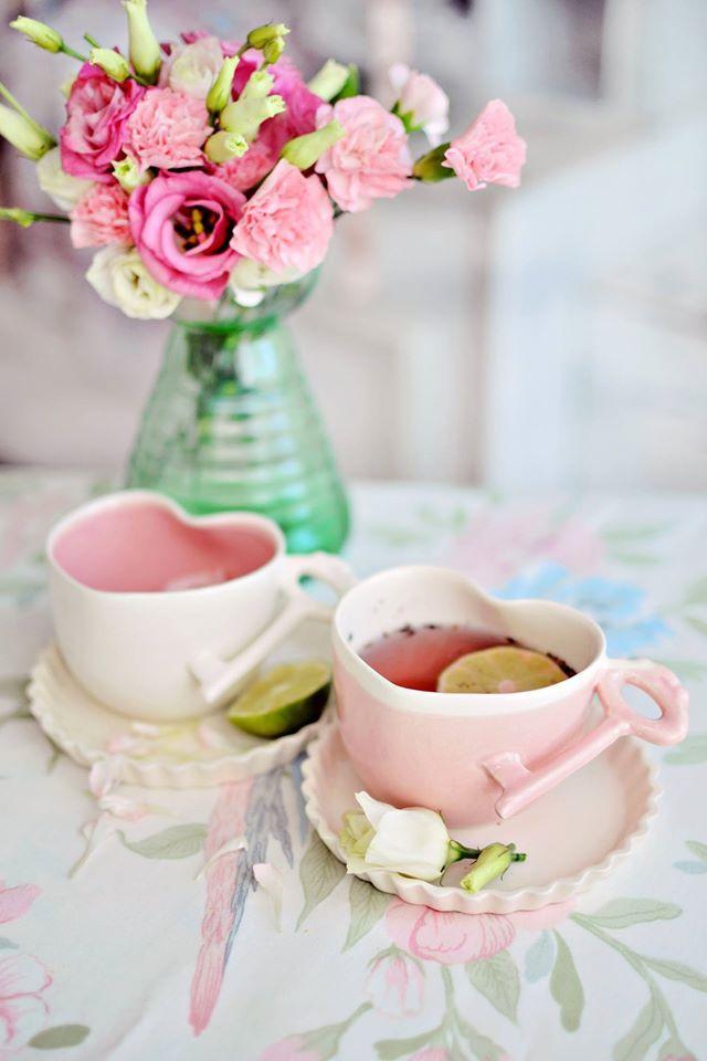 ♔ Tea time lovely