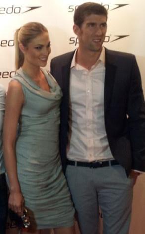 #MichaelPhelps and girlfriend Megan Rossee