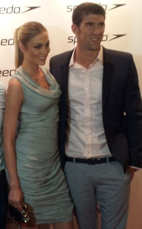 #MichaelPhelps and girlfriend Megan Rossee