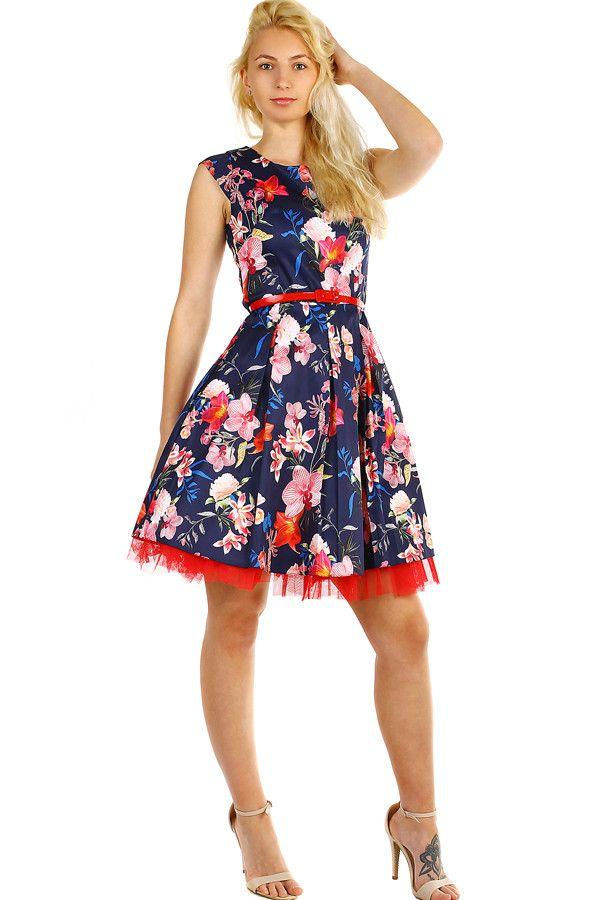 Dámské retro šaty s květinovým vzorem - koupit online na Glara.cz   letnisaty   12539ee2b1