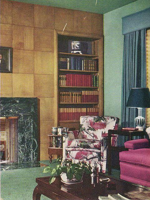 102 best 1940s Living Room images on Pinterest | 1940s ...
