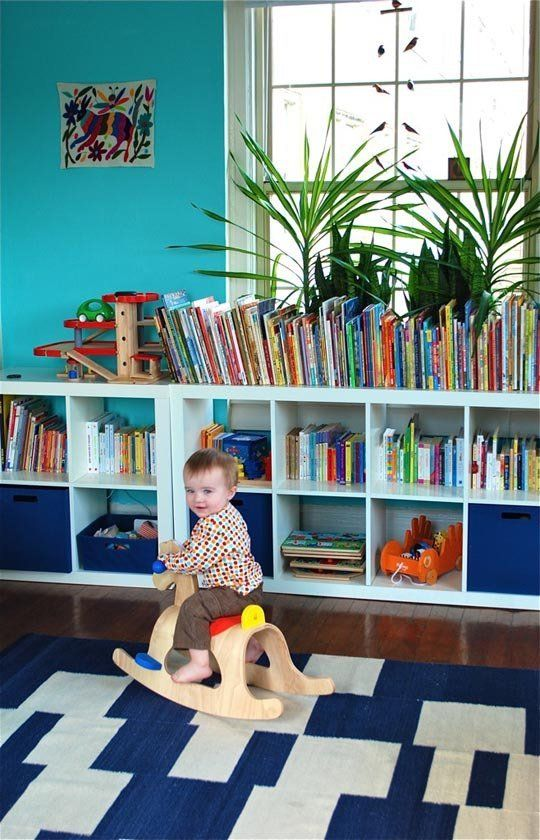 Quentin's All Purpose Room — Small Kids, Big Color Entry #8 | Apartment Therapy