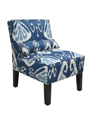 60% OFF Skyline Armless Chair, Iris