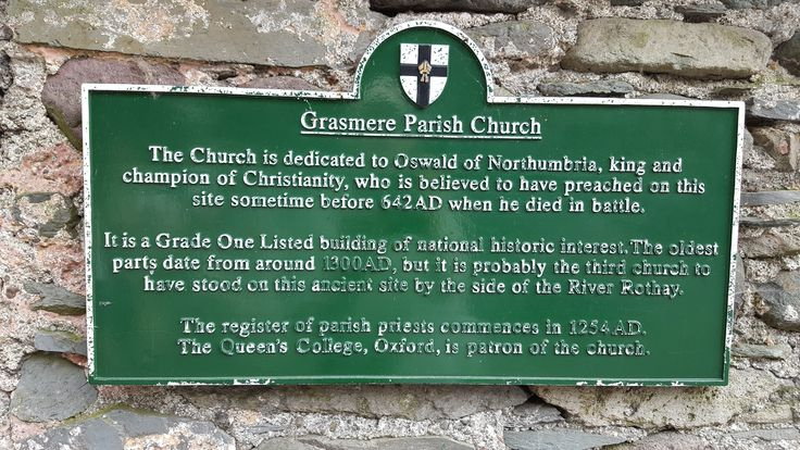 July 2016 - information board about the history behind today's parish church
