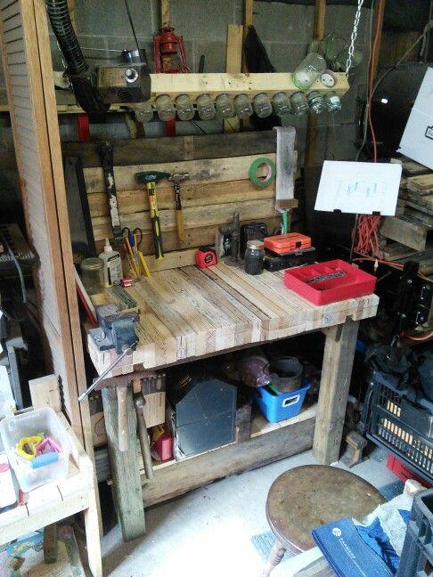 My pallet workbench