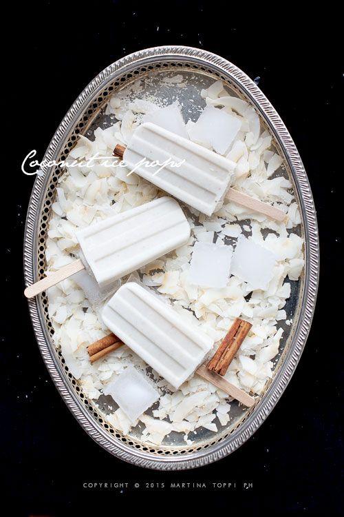 Trattoria da Martina - cucina tradizionale, regionale ed etnica: Ghiaccioli al cocco (coconut ice pops)