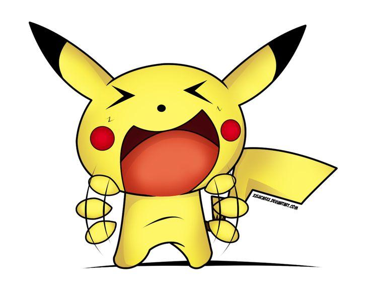 Happy Pikachu By XXlucasXx