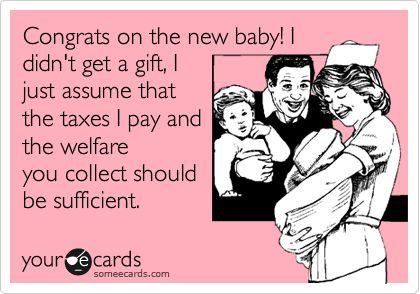 Parents should NOT receive tax incentives when this world is already so incredibly over-populated.