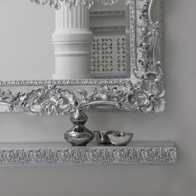 floating shelves bathroom mirror