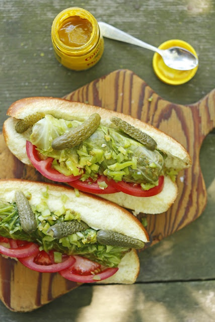 Interesting idea. Curious to see if I could give up real hot dogs for them.: Chubby Vegetarian, Cabbages Dogs, Vegetarian Sandwiches, Vegetarian Hot, Sausages Rolls, Veggie, Hot Dogs, Cabbage Dogs, Vegetarian Recipes
