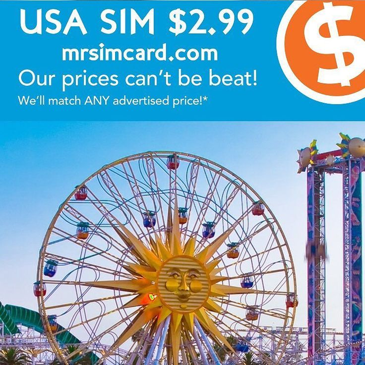 Are you running around in circles trying to find a sim for your unlocked phone?  Stop spinning your wheels.  USA sim cards are only $2.99 @mrsimcard.  Get a Tourist sim online at http://ift.tt/2iRhvSx.  Enjoy unlimited Talk Text 4G LTE Data as well as included international calls.  Sim cards are triple or dual cut so they fit your phone. Free shipping on most sims.  Get yours today.  #tw #li #visitusa #unlimited #iphoneusa @el55el