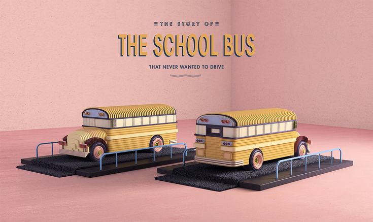 The School Bus on Behance by Yonito Tanu