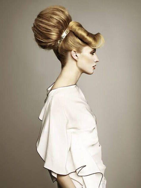 Recopilación de los peinados extravagantes más raros   Los Peinados