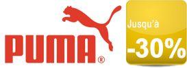 TOUTE la boutique officielle Puma.fr offre jusqu'à -30%
