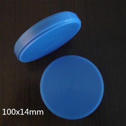 100x14mm Dental  Wax,Blue Color,dental lab material for Dentmill CAD CAM