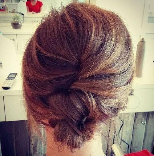 Enjoyable 1000 Ideas About French Twist Hair On Pinterest French Plaits Short Hairstyles Gunalazisus