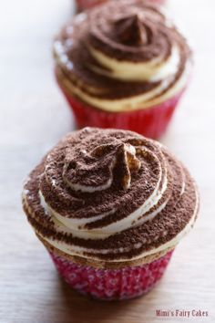 tiramisu cupcakes; deutsches rezept