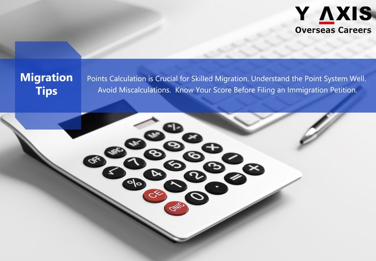 Migration Tip: points calculation is crucial for skilled migration. Understand the point system well. Avoid miscalculations. Know your score before filing an immigration petition.