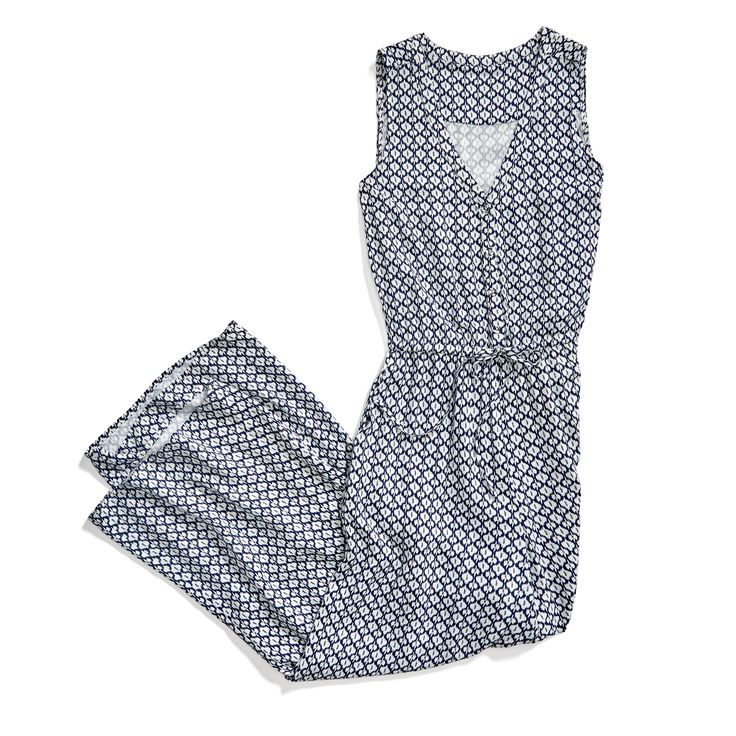 Stitch Fix Summer Styles: Printed Jumpsuit