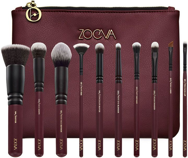 ZOEVA Opulence Vegan Brush Set