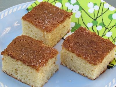 Cathrines matblogg: Langpannekake med vaniljesaus