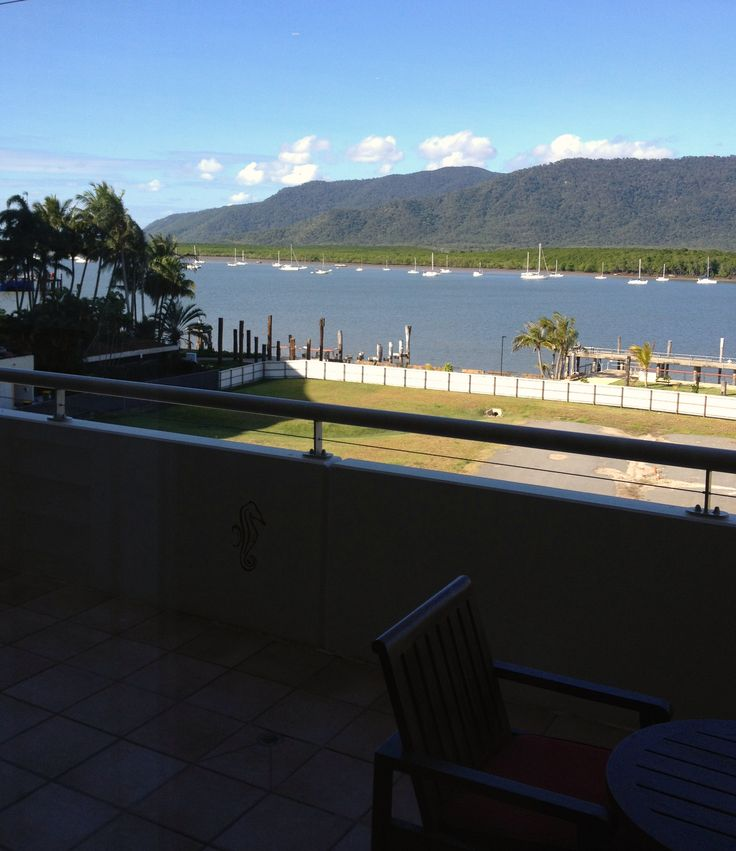 Hotel 1: Pullman Reef Hotel Casino in Cairns. The view from my room's balcony.