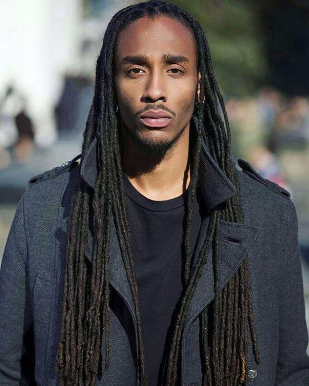 Image Result For Long Hair Styles For Black Men