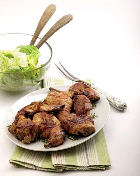 Coniglio al forno con la senape  #recipe #ricette #italy