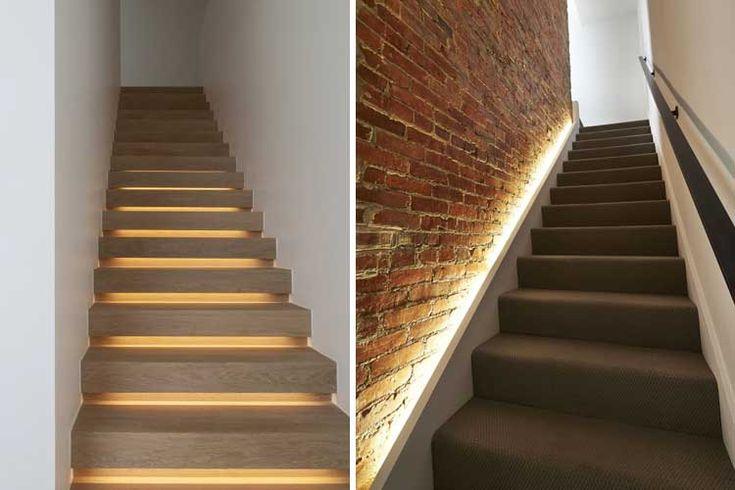 M s de 25 ideas incre bles sobre iluminaci n indirecta en - Iluminacion escaleras ...