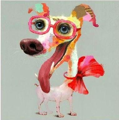 http://www.peintures-sur-toile.com/tableau-pop-art-chien-rose-avec-des-lunettes-xml-243_381-4767.html