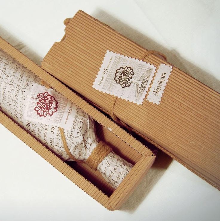 great rustic wine packaging