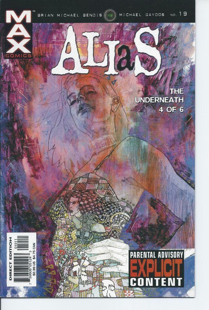 Marvel Max: Alias #19 VF+ (Brian Michael Bendis & Michael Gaydos) Jessica Jones