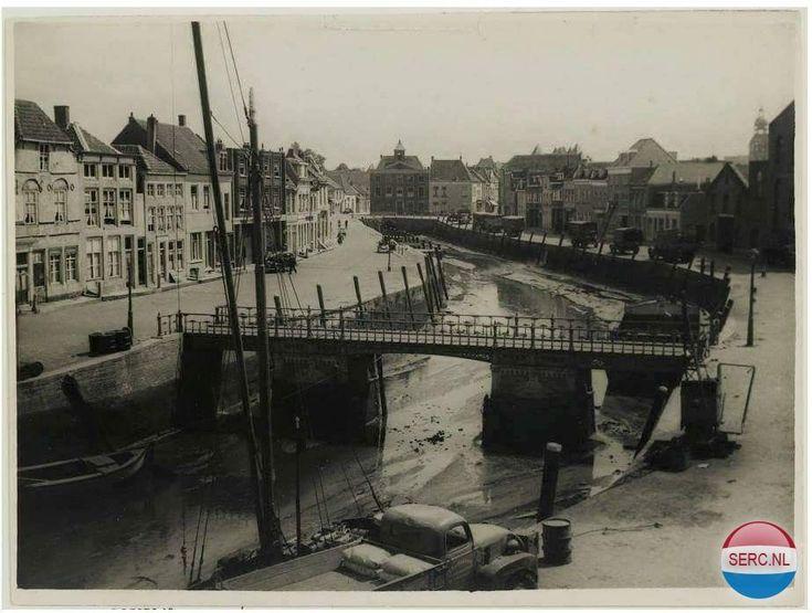 Kaai Bergen op Zoom (jaartal: 1945 tot 1950) - Foto's SERC