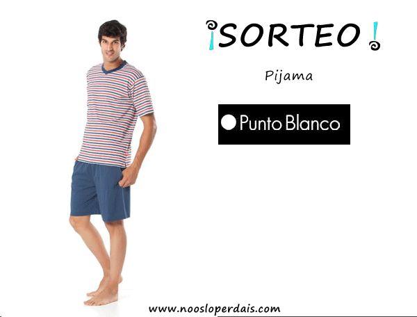 Sorteo pijama masculino de Punto Blanco. Participar desde aquí: http://noosloperdais.com/2015/03/31/sorteo-pijama-de-hombre-de-punto-blanco/