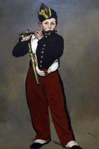 Édouard Manet Le fifre Musée d'Orsay