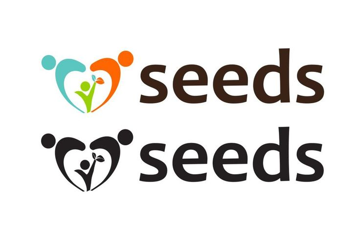Create a warm and subtle seedling illustration for a pediatric psychologist by brana