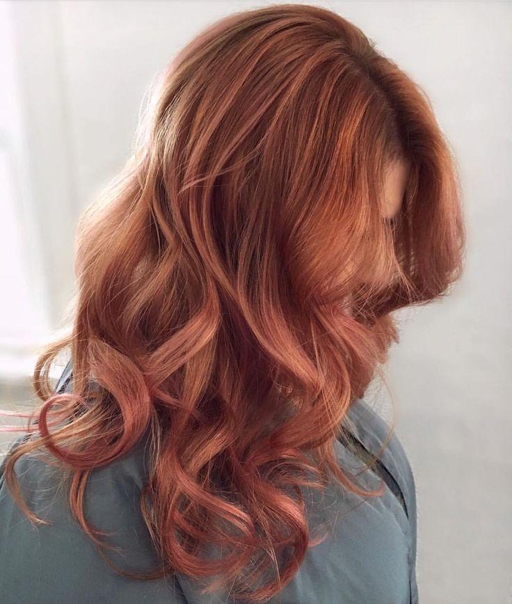 Copper Rose Hair Прически и Красота