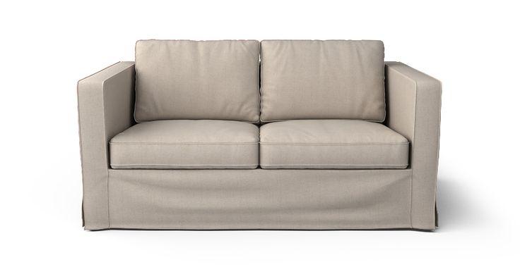 Karlstad 2 plazas sofá, fundas falda larga - Comfort Works Custom Slipcovers