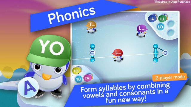 Alphabet, Spelling and Phonics ! Literacy and ABC educational games for kids by Tribal Nova