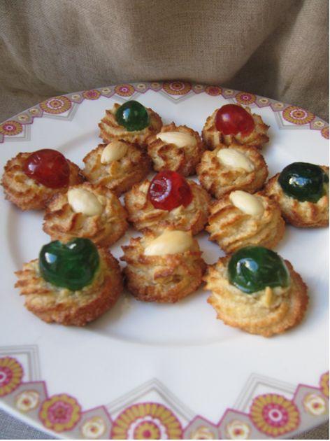 La cuisine d'ici et d'ISCA: Petits fours en pâte d'amande