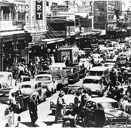 Rundle Street. Adelaide 1959