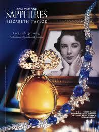 Elizabeth Taylor perfume - Sapphires