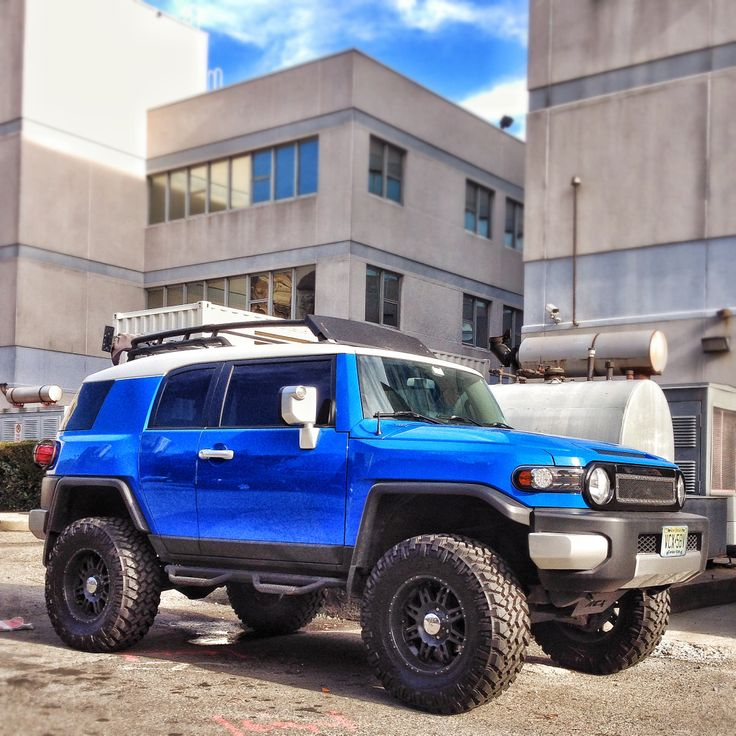 Custom FJ Cruiser  Toyota  Pinterest  Toyota fj cruiser and Toyota