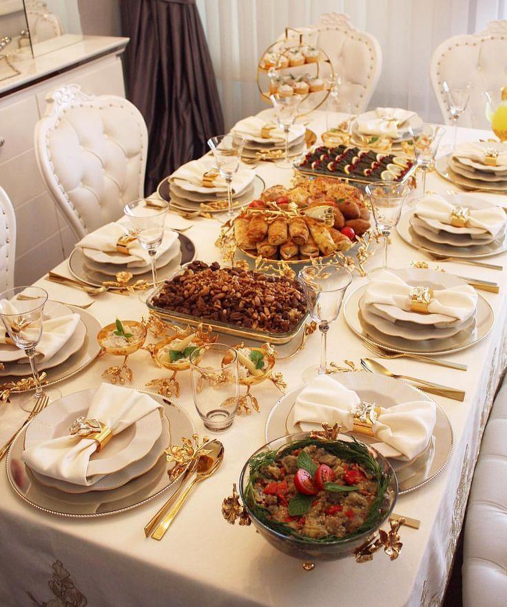 13k Vind Ik Leuks 112 Reacties Sumeyye Acarturk Sumeyyeomer Op Instagram 39 Misafirlerim Icin Tam Food Presentation Food Table Buffet Food